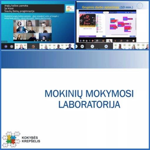 """Seminaras """"Mokinių mokymosi laboratorija"""""""