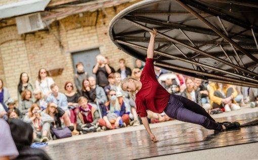 Tarptautinis gatvės teatro festivalis pavers Vilnių meninių žaidimų aikštele