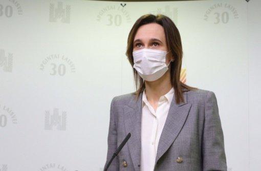 "Po ""AstraZeneca"" skiepo Viktoriją Čmilytę-Nielsen kamuoja itin prasta savijauta"
