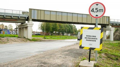 Dėl geležinkelio viaduko rekonstrukcijos darbų Alytuje bus stabdomas eismas