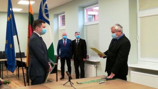 Prisiekė naujas Kelmės rajono savivaldybės tarybos narys