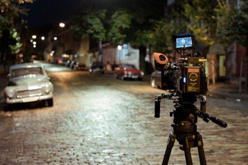 Vilniuje net ir karantino metu verda filmavimo darbai