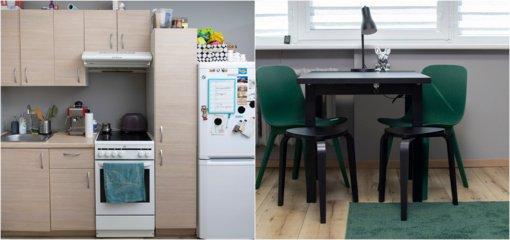 Patogi virtuvė, kai visai nėra vietos – misija įmanoma