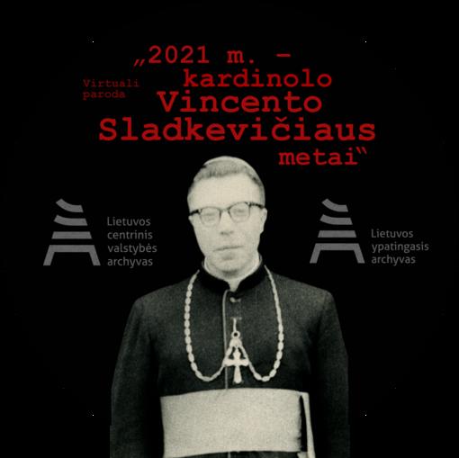 Atidaryta virtuali paroda, skirta kardinolui Vincentui Sladkevičiui