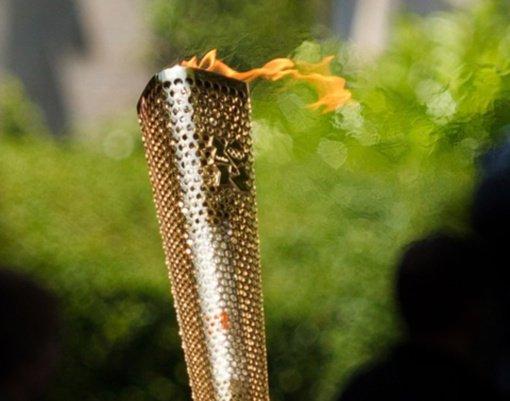 Japonijoje perduota olimpinė liepsna