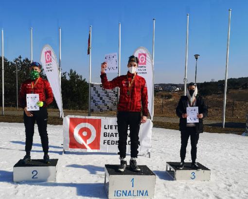 Darius Dinda – Lietuvos biatlono čempionas