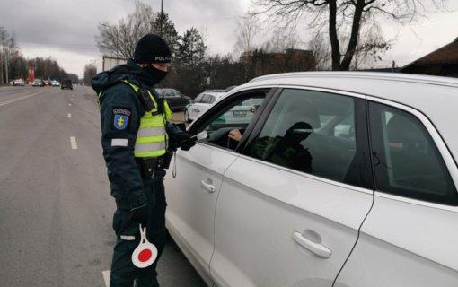 Savaitgalio reidas Kaune: sulaikyti neblaivūs vairuotojai
