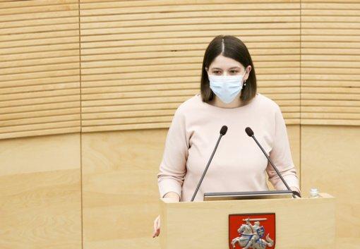 Finansų ministrė: svarstoma nauja lengvata labiausiai nuo pandemijos nukentėjusiam verslui