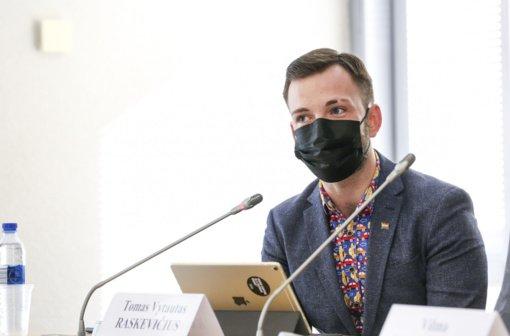 Seimo nario T. V. Raskevičiaus iniciatyvai kolegos nepritarė