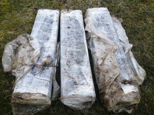 Švenčionių rajone pasieniečiai iš Neries ištraukė kontrabandinių cigarečių krovinį