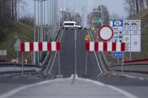 Pasieniečiai: įvažiuojant į Lenkiją reikia turėti neigiamą COVID-19 testo rezultatą