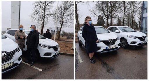 Radviliškio rajono medikai į pagalbą skubės naujais automobiliais