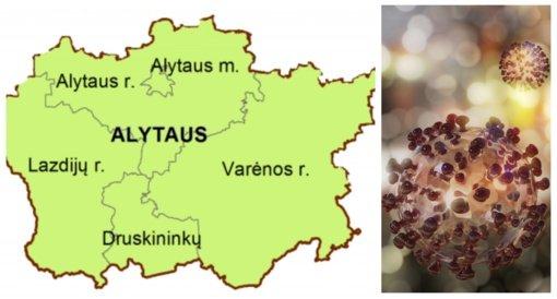 Britiška viruso atmaina jau vyrauja ir Alytaus apskrityje