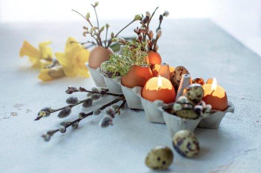 Pasigamink Velykų stalo dekoraciją lengvai ir greitai