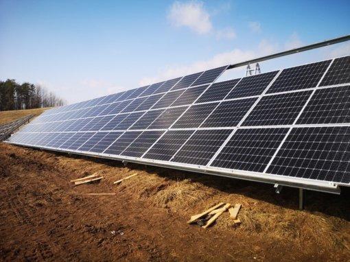 Žaliosios energetikos proveržis Molėtuose