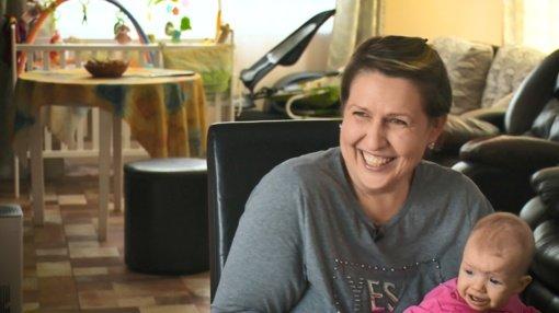 Laimai Tamulytei-Stončei auginti dukrą padeda gyvūnai
