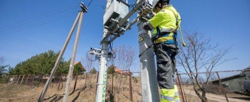 Elektros neturi daugiau kaip 2 tūkstančiai vartotojų
