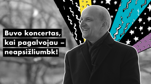 """#UNIKALU. R. Adomaitis: """"Buvo koncertas, kai pagalvojau – neapsižliumbk!"""""""