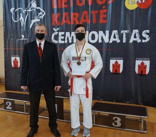 Paaiškėjo Lietuvos WKF karate čempionai