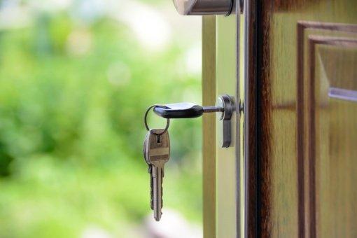 Duryse užstrigo raktas: ką daryti?