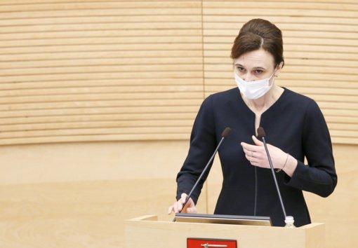 Šaltiniai: V. Čmilytė-Nielsen į VRK pirmininkes siūlys buvusios VTEK pirmininkės J. Petkevičienės kandidatūrą