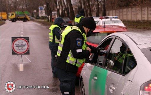 Saugaus eismo dieną – Panevėžio policijos reidas: patikrino 419 vairuotojų