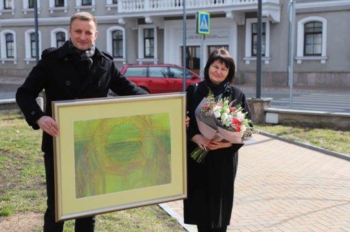Gražios sukakties proga pasveikinta mokytoja ekspertė Nijolė Prascevičienė