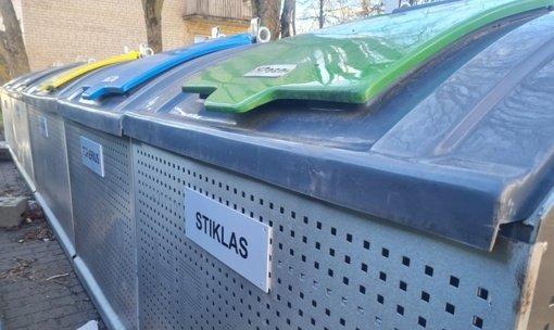 Širvintose pradeda veikti naujosios pusiau požeminės konteinerių aikštelės