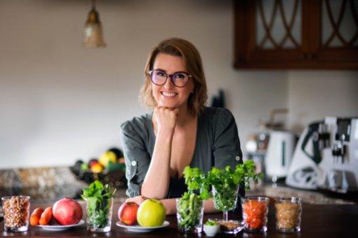 24 kilogramus numetusi dietistė Vaida Kurpienė: taikant sveikos mitybos principus atsikratysite nereikalingų kilogramų