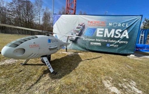 Nuotolinio pilotavimo orlaiviai pradeda misiją: virš Baltijos iš oro stebės jūros taršą