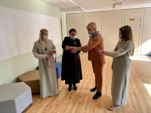 Radviliškio Lizdeikos gimnazijoje – įkurtuvių džiaugsmas