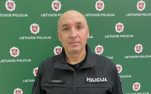 Klaipėdos Policijos departamentui vadovaus R. Stasiulis