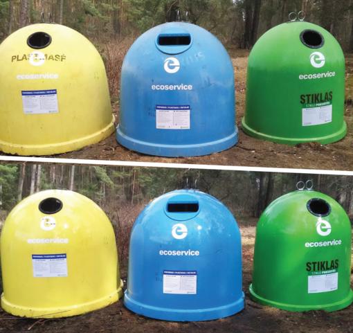 Sostinėje įsibėgėja sezoninis švarinimasis: bus išplauti apie 4200 konteinerių