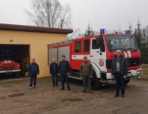 Savivaldybės ugniagesių darbo sąlygos keičiasi į gera