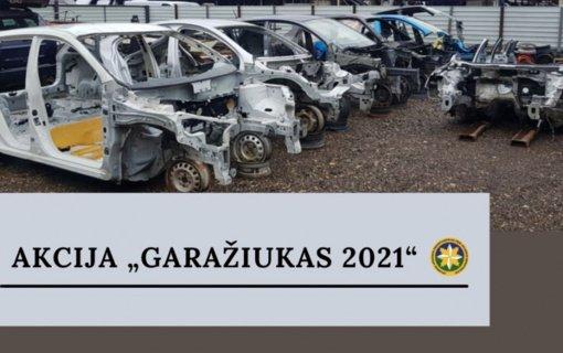 """Akcija """"Garažiukas"""" Kėdainiuose: nustatyta atliekų apskaitos pažeidimų"""
