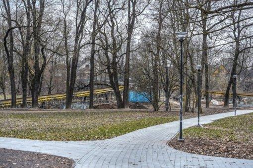 Panevėžyje įsibėgėja Skaistakalnio parko rekonstrukcijos darbai