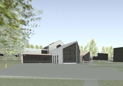 Modernizuojamas pareigūnų Reabilitacijos centras Trakuose