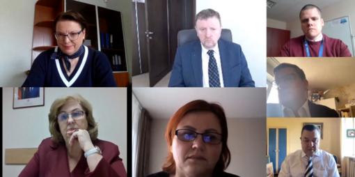 Sveikatos reikalų komitete pristatyta  COVID-19 situacija Joniškio rajone