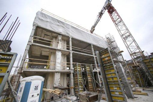 Vasarį atliktų statybos darbų – 11 procentų mažiau nei prieš metus