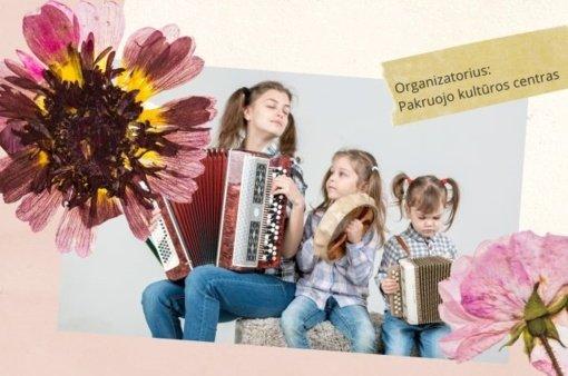 Pakruojo kultūros centras organizuoja virtualią šeimų šventę-konkursą