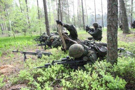 Kalniškės miške vyks karinės pratybos