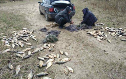 Viešintų ežere neteisėtai žvejojęs vyras užsidirbo baudą