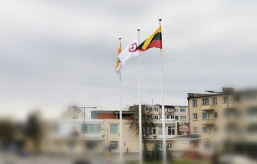 Balandžio 15-ąją Radviliškyje plevėsuoja Taikos vėliava