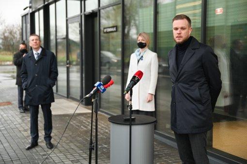 Baltijos šalių ministrai pasisako už Aljanso veiksmų planą Ukrainai