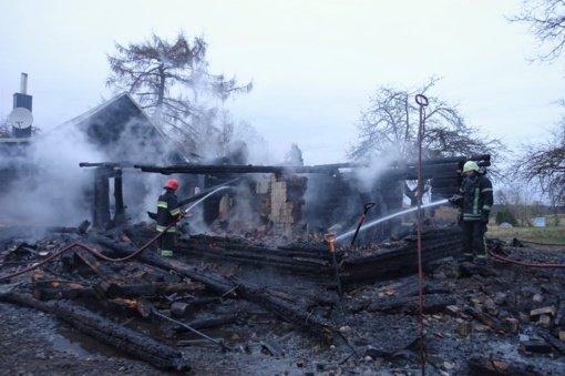 Skaudi nelaimė Molėtų rajone: gaisras pasiglemžė moters gyvybę
