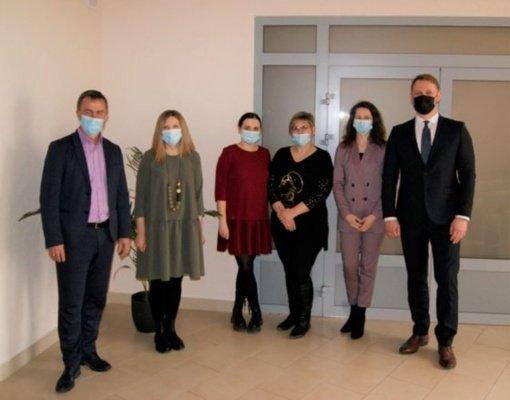 Balandžio 15-ąją pasveikinti Radviliškio rajono kultūros darbuotojai