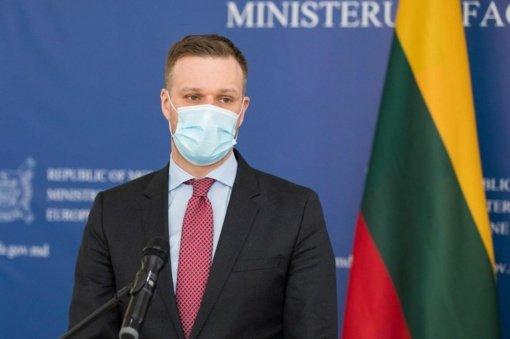 G. Landsbergis: situacija Ukrainoje atrodo pavojingesnė, nei prieš Krymo aneksiją