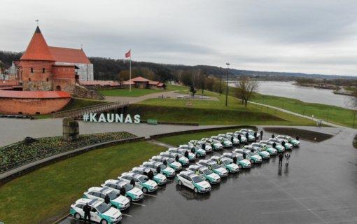 Kauno apskrities policijos autoparką papildė 28 nauji automobiliai