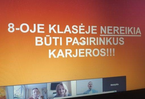 """Šiaulių """"Juventos"""" progimnazijoje – praktinė konferencija """"Drąsiais žingsniais karjeros link"""""""