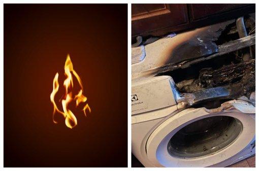 Svarbu: naujos skalbimo mašinos sukelia gaisrus